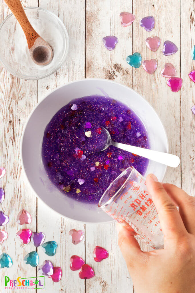 purple slime recipe