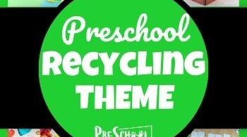 Study recycling with your preschooler using this Recycling Preschool Theme! Your kids will love these engaging recycling activities for preschoolers that will teach them about the importance of recycling to protect our earth. We have recycling printablesand crafts. Use theserecycling for preschoolers ideas with toddler, pre-k, and kindergarten age students.