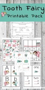 tooth fairy worksheets