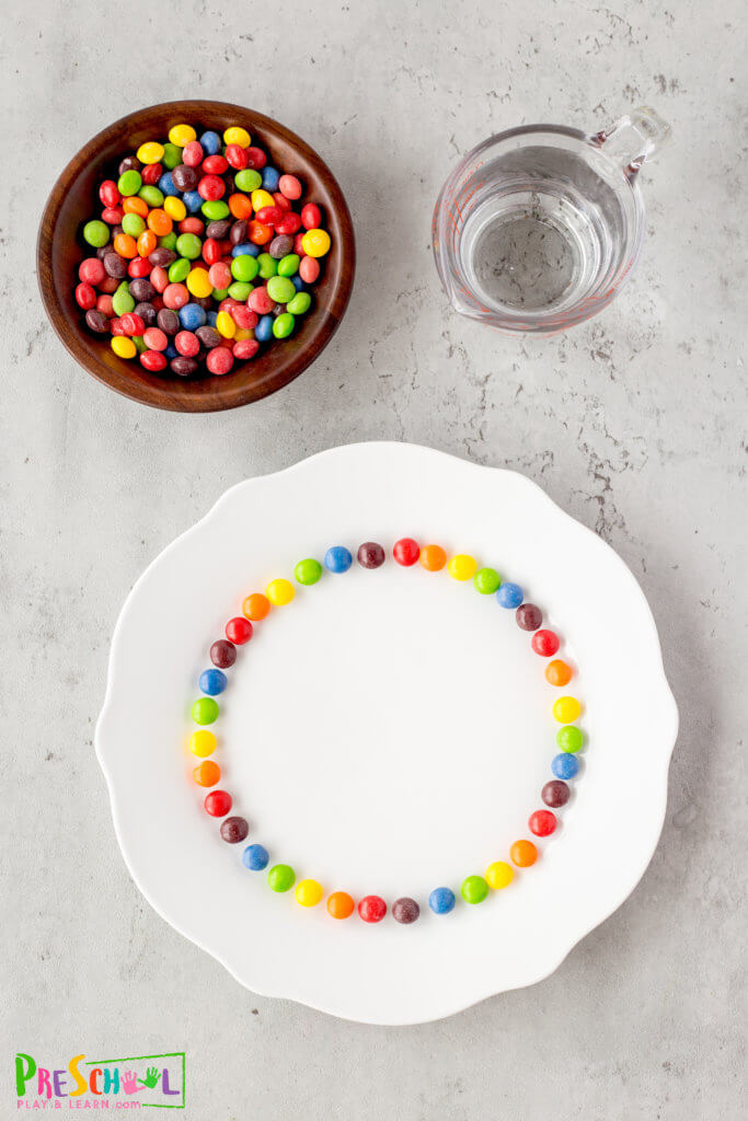 Skittle Science Experiment