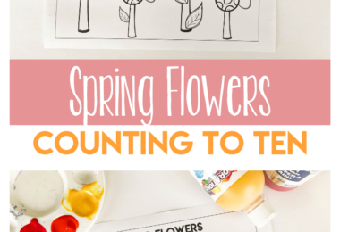 Is your preschooler working on counting to ten? These cute counting to 10 worksheets have a fun spring flowers theme. Use thiscounting activity for preschool, toddler, pre-k, and kindergarten age children to practice counting 1-10. These spring worksheets for preschools work on valuable skill while having fun and honoring your preschoolers developmental levels. Simply download pdf file with flower worksheet and you are ready for yoru spring theme for preschool.