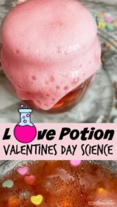 love potion valentines day science experiment