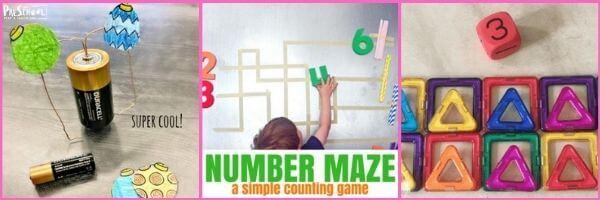 Preschool Magnets Math Activities