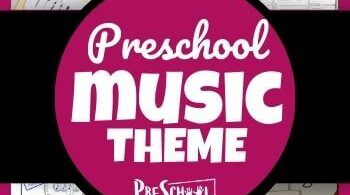 Teach your preschooler about music using this Music Preschool Theme! Your kids will love these engaging music themed activities for preschoolers, free music printables, and musical instrument crafts, andmusic theme for toddlers.ThisPreschool Music Theme has so many ways to tech kids about music, musical instruments, how we make music, and more!