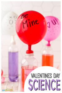 secret message valentines day balloon science project