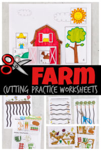 cutting practice worksheets