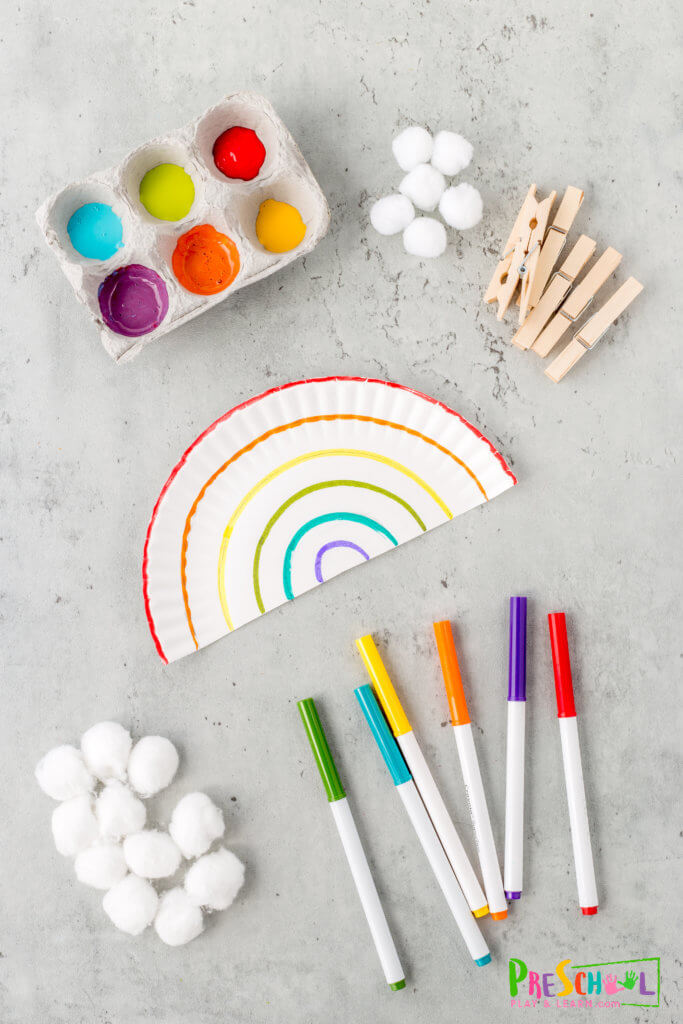 rainbow art and craft