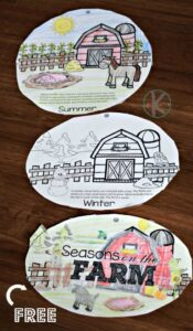 seasons printables