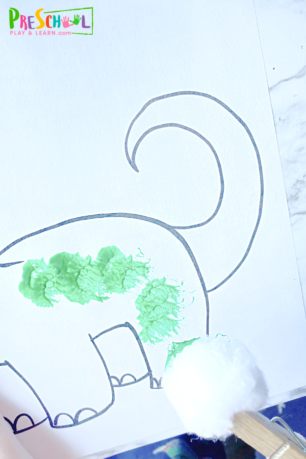 Dinosaur Art Preschool