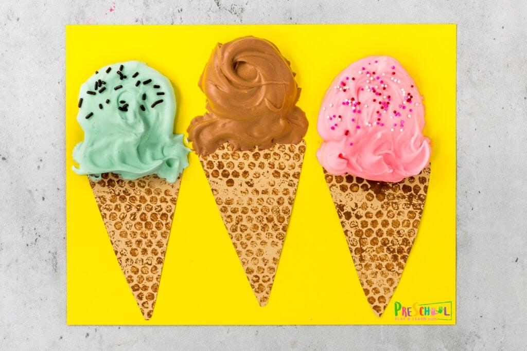 Puffy Paint Ice Cream