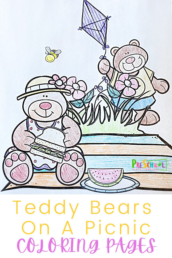 Teddy Bear Coloring Pages. Thisteddy bear colour is fun for toddler, preschool, pre-k, and kindergarten age students. Simply download pdf file withteddy bear coloring sheetto work on strengthening fine motor skills while having fun with ateddy bear activity.