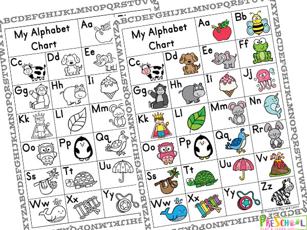 abc chart for kids