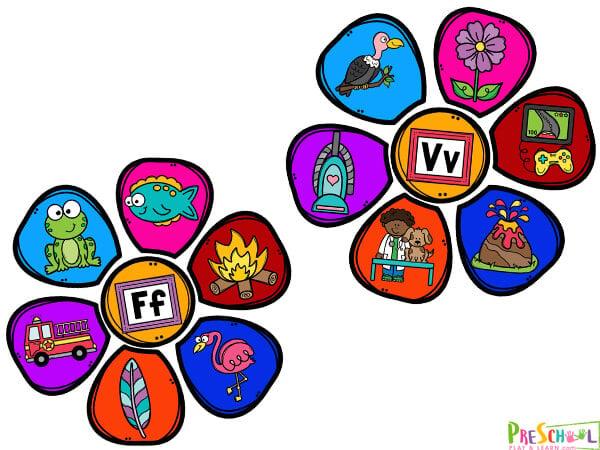 flower activity for preschoolers