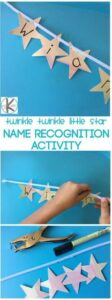 twinkle twinkle name activities for preschoolers