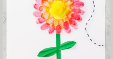 One of my favorite summer flower are pretty Zinnias. They come in so many colors and variteties, but all of them are bright, cheery, and filled with lots of petals. This cute Zinniaflower craft is a fun way to help kids take notice of the many types of flowers in our world. Plus, thisflower craft for preschool, toddler, kindergarten, pre-k, and first graders uses a kid favorite technique -fingerprint painting! So add this prettyfingerprint flowers project to your summer bucket list, flower theme, or rainy day activity; kids of all ages will love making these fingerprint art ideas.