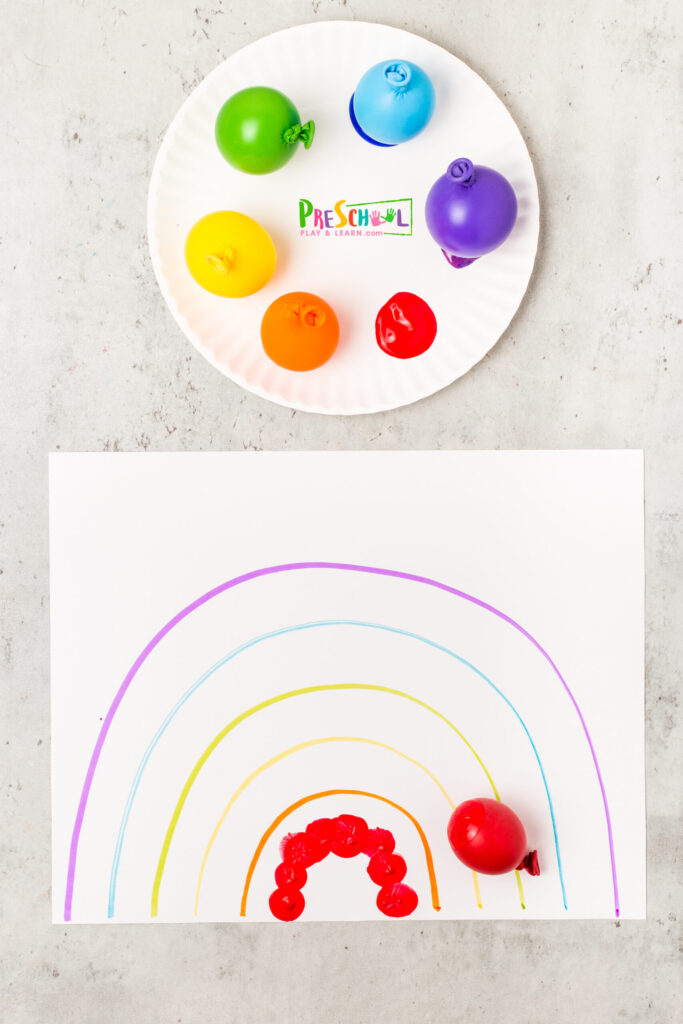 Rainbow Craft for toddlers