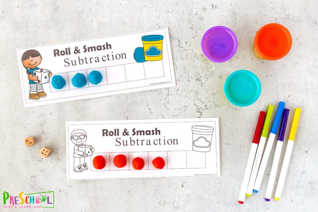 Subtraction Activities for Kindergarten
