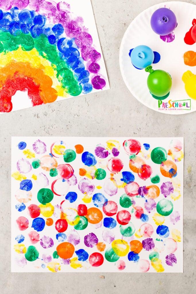 balloon activities for preschoolers