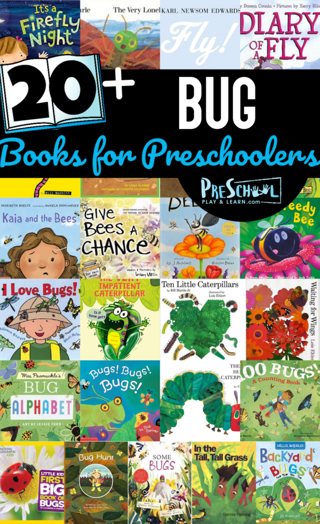 cuteBug Books for Preschoolers and educationalinsect books for kids.No matter whichbooks about insects for preschoolers, kindergartners, toddlers, grade 1, and grade 2 students you pick - kids are going to love these selections!