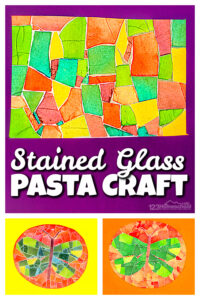 stained glass art for kids