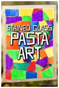 stained glass pasta
