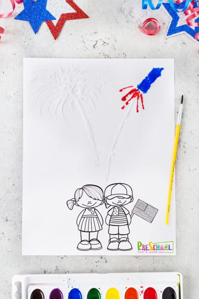 Fourth of July Crafts for Preschoolers