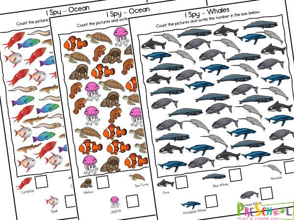 I Spy Ocean Animals