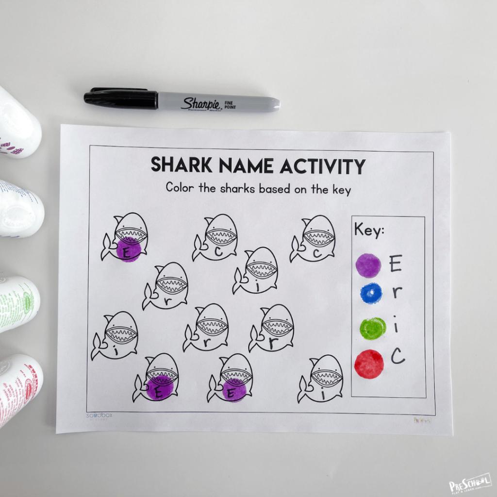 Name games for preschoolers