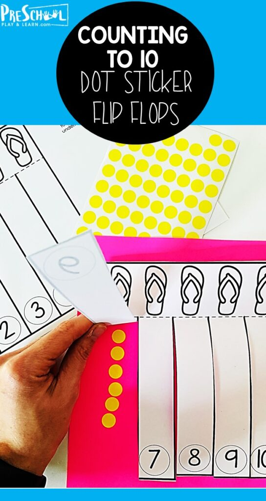 If your child is learning to count to 20, they need lots of practice! Thiscounting to 20 activity is a fun, interactivesticker activity to help preschool, pre-k, and kindergarten age children work on those tricky teen numbers with asummer activity for preschoolers! Thissummer math uses asummer worksheets preschool, cut into flaps, and used with stickers to work onlearning to count to 20. Simply printcounting to 20 worksheets