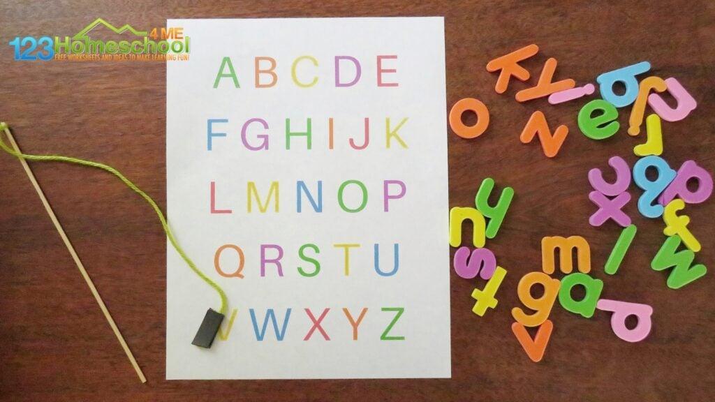 alphabet game for preschoolers