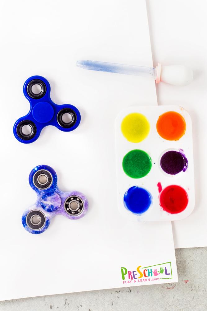 fidget spinner activities