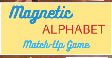 Looking for a fun new way to familiarize your preschooler or kindergartener with the alphabet? Try the magnetic alphabet matchup game! This unique game is funways to use magnetic letters your kids are sure to remember. Simply download alphabet printable and you are ready to play this magnetic abcgame!