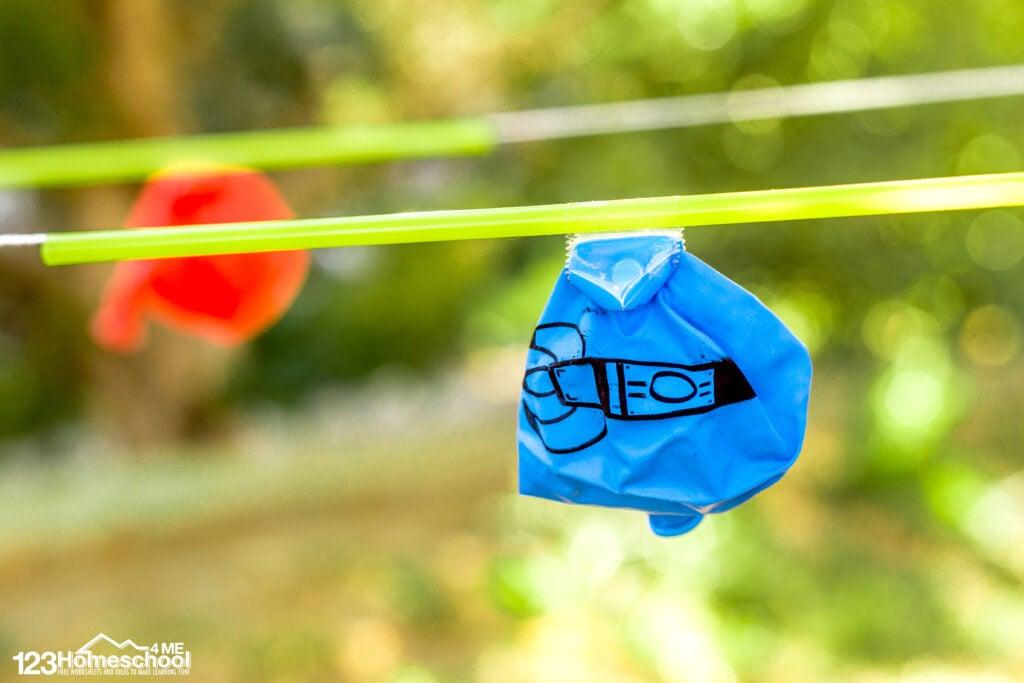 Balloon Rocket Experiment