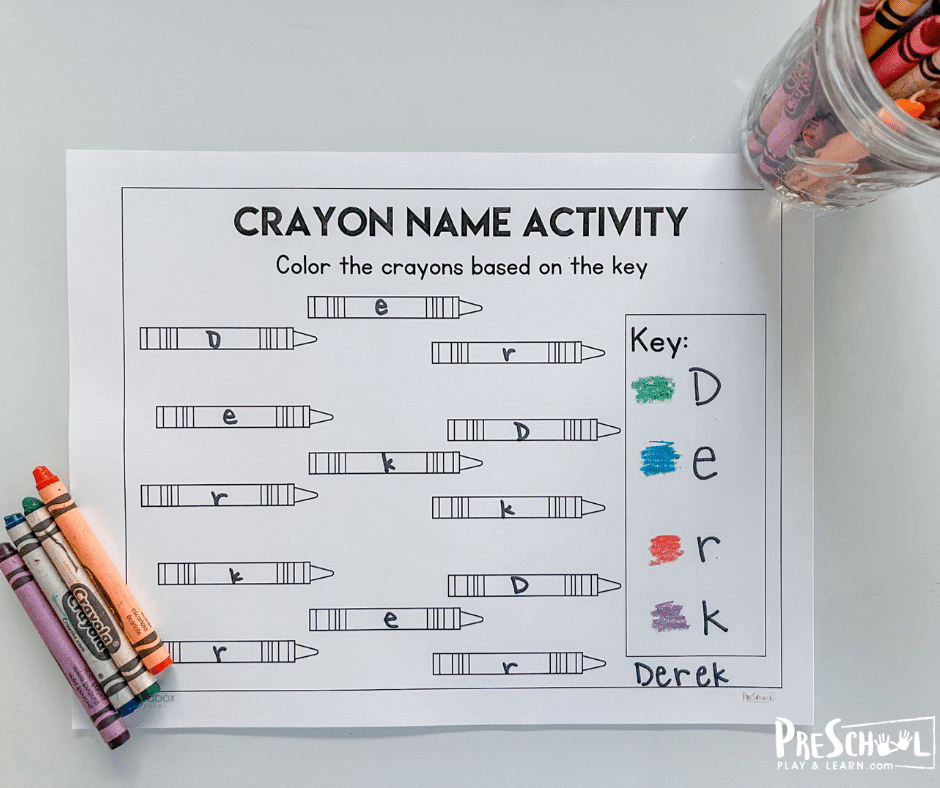 First Day of School Name Games
