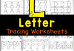 Handy letter tracing worksheets for preschoolers and kindergarten! Thesefree printable preschool worksheets work on letters A to Z.
