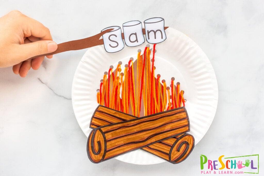 Kindergarten Name Craft
