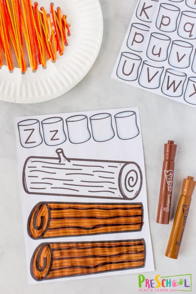 Preschool Name Craft