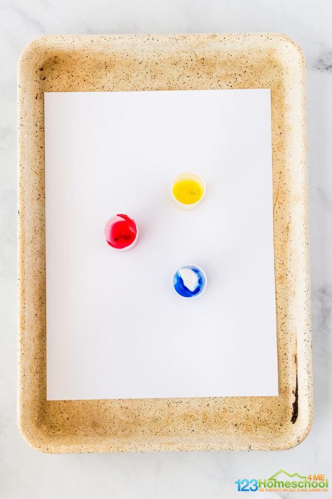 painitng activity for preschoolers