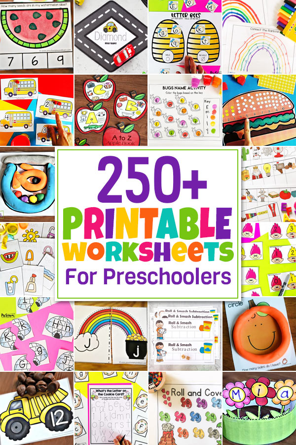 Young kids are excited about learning! They love hands on exploration, learning through play, reading lots of books, and Preschool Worksheets. If you are looking for fun, educational, and free printable preschool worksheets - you've come to the right place! WE have thousands of pages of pre-k worksheets! You will love the huge variety ofpreschool worksheet packet pdf we have for you to print for FREE! You will be amazed by thealphabet worksheets, science worksheets,preschool math worksheets, and more you will find! Simply start scrolling through theworksheets for preschoolers, click on what you want to see, and print the pdf file to play and learn!