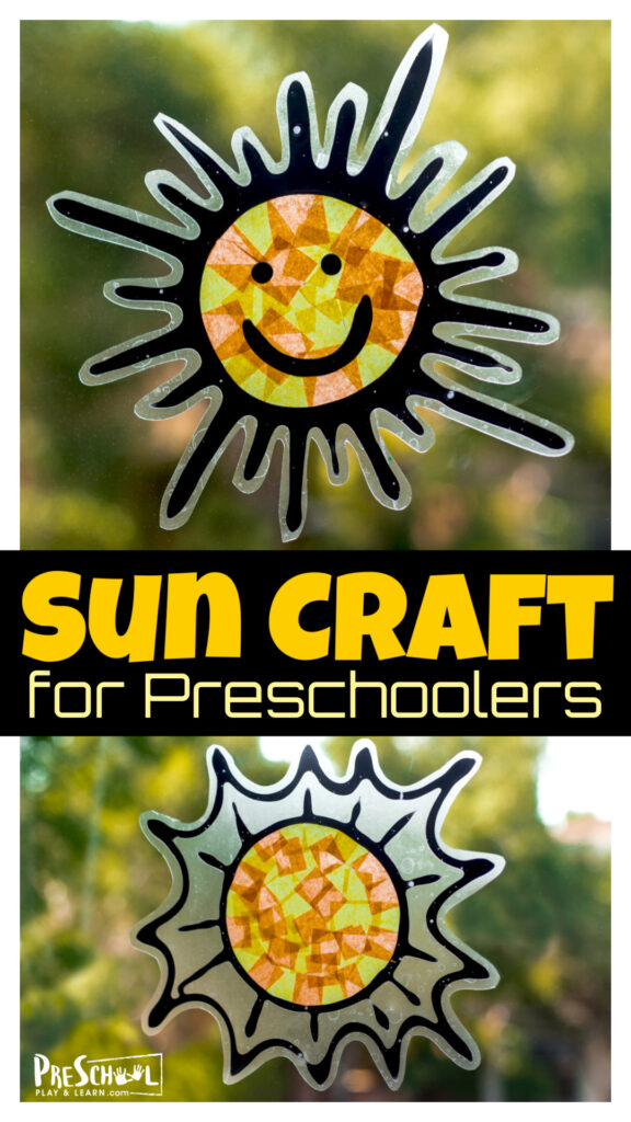 Celebrate the arrival of summer with a cutesun craft for kids! This adorable and easy-to-makesuncatcher craft for kidsis such a cheerful decoration for your windows. Thissummer craft for preschoolers, toddlers, kindergartners, grade 1, grade 2, and grade 3 students is sure to be a great addition to your summer bucket list as asummer activity.