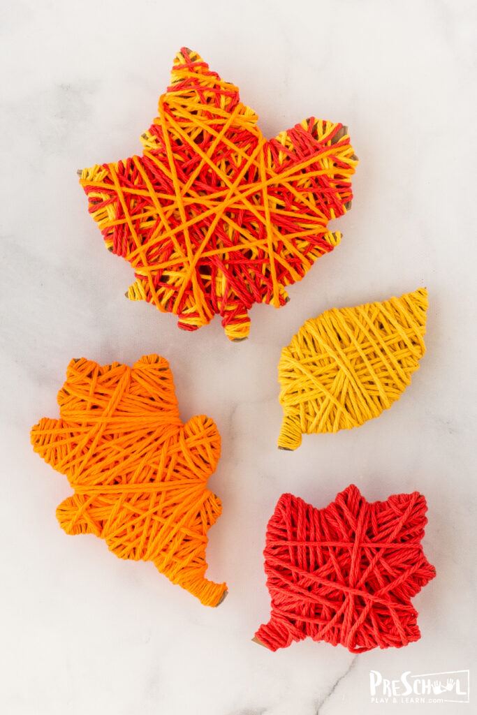 Easy Fall Crafts for Preschoolers