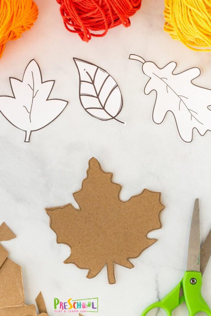 Fall leaves Printable