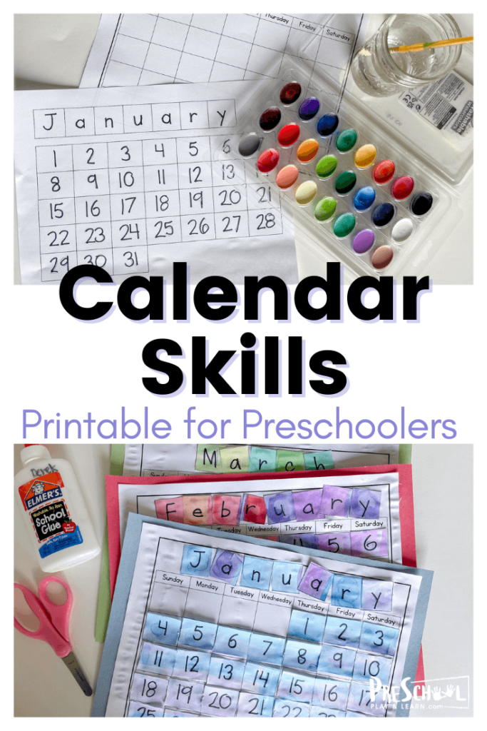 Calendar time is a staple in preschool learning, and this free printable calendar worksheet is a fabulous preschool calendar activity.Thecalendar ideas for preschool is simple enough that it can be used year after year and adaptable so that you can use create them once a month or even add to it daily. SImply download pdf file with days of the week for preschoolers printables and you are ready to play and learn with your preschoolers.