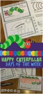 days of week printable