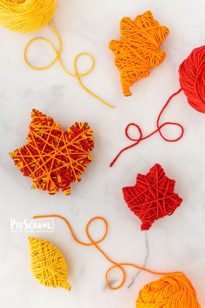 fall craft for toddlers