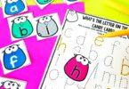letter recognition activity for preschoolers
