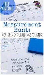 measurement activities for 2nd grade