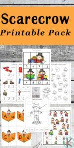 scarecrow worksheets