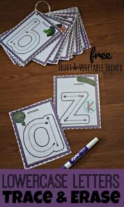 vegetable and fruit printables