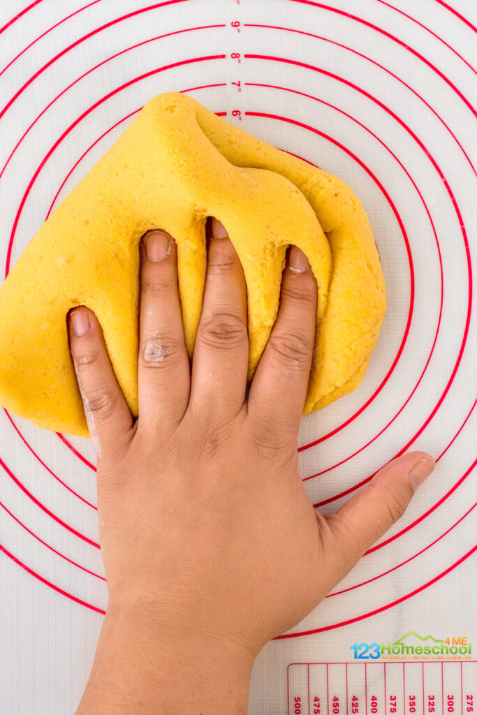 yellow play dough recipe for kids